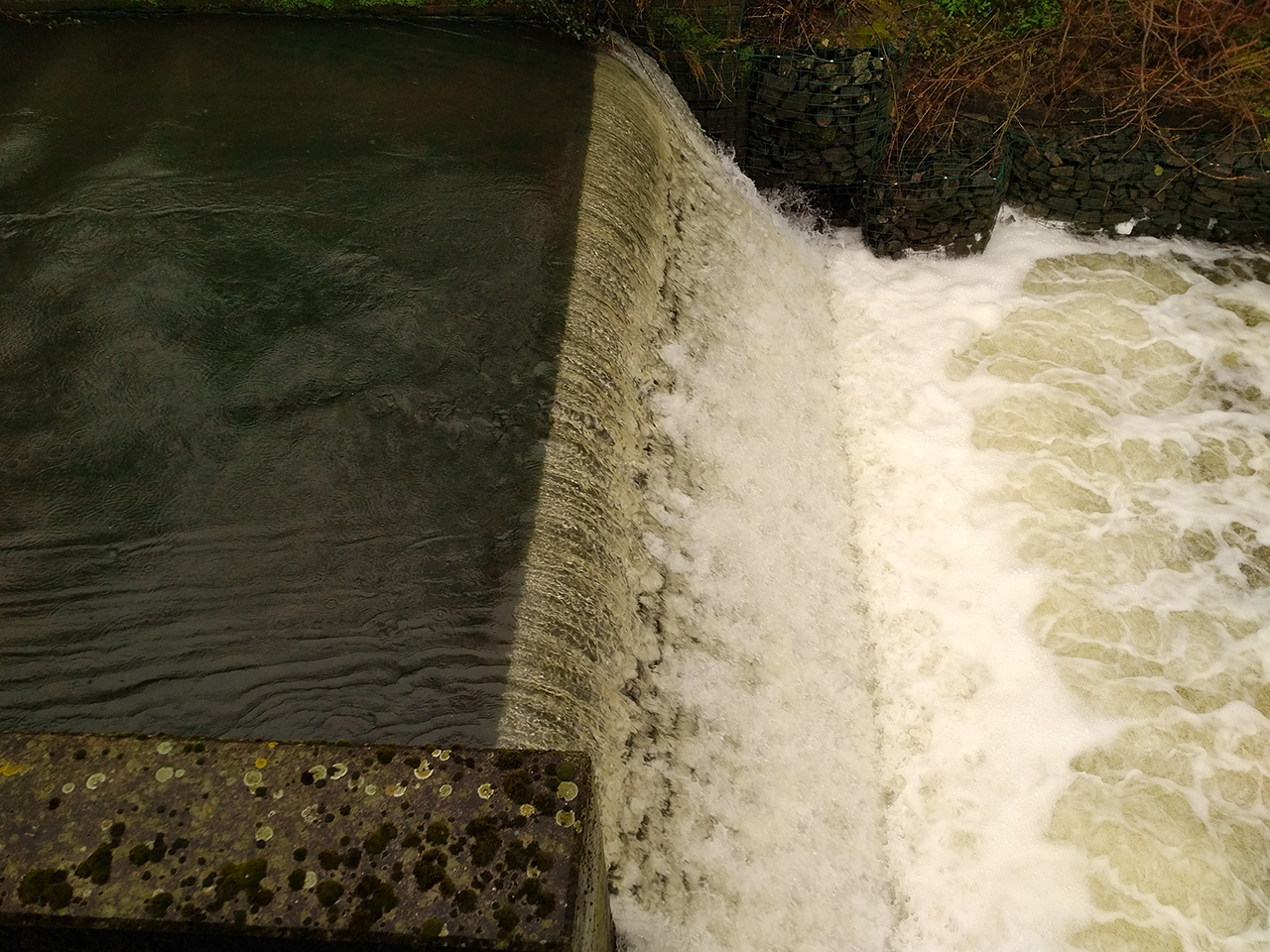 Flow and fall god enough for a micro hydro system