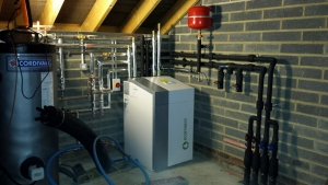 Heat pumps cooling down?