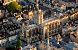 Isoenergy to design and install Bath Abbey heat pump
