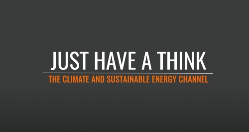 "isoenergy features on Climate Science channel ""Just Have a Think"""